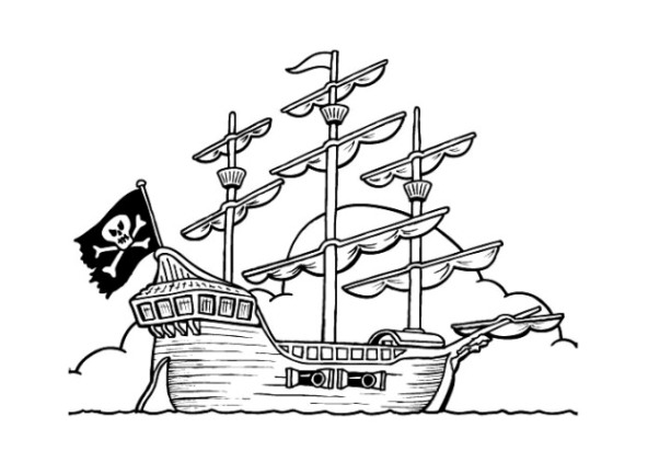 Pictures Of Pirate Ships For Kids